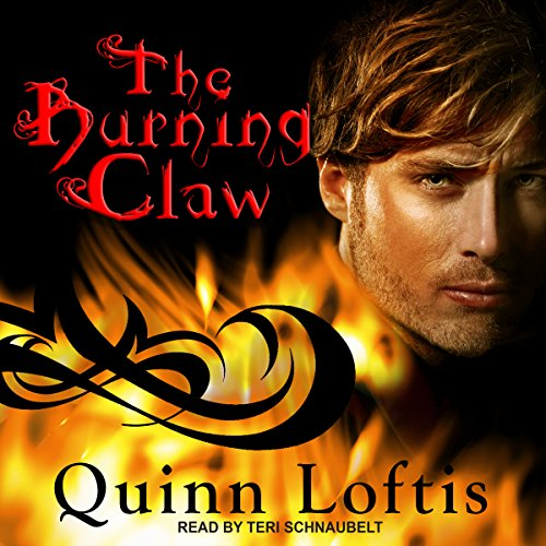 The Burning Claw audiobook cover art