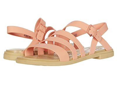 Crocs Tulum Sandal (Grapefruit/Tan) Women