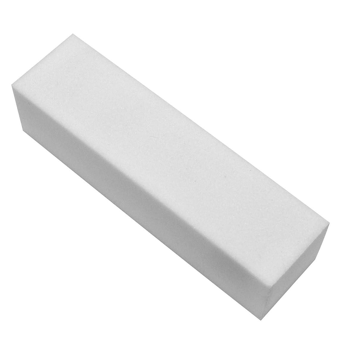 騙す優しいスクランブルネルパラ ホワイトブロック (ファイル) 25x25x95mm