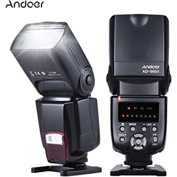 Andoer PT-04GY Disparador de Flash Universal Control Remoto de ...