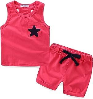 Mud Kingdom bebé Boys Star Bolsillo Chaleco pantalón Corto Verano Outfit