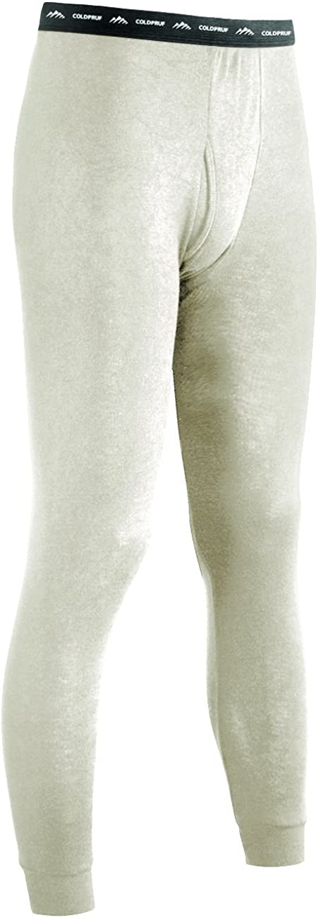 ColdPruf Men's Authentic Dual Wool Plus Base Layer Bottom