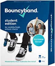 Original Bouncy Bands for Middle and High School Chairs – Allows Students to Move While Working, Increasing Focus, Improving Academic Performance and Relieving Anxiety, Hyperactivity, Frustration and