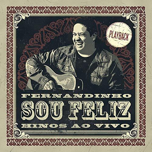 CD Fernandinho Sou Feliz Hinos Ao Vivo (Play-Back)