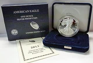 2013 W American 1 oz Silver Eagle Dollar PROOF US Mint