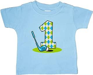inktastic - Argyle Golf 1st Birthday Baby T-Shirt 2486a