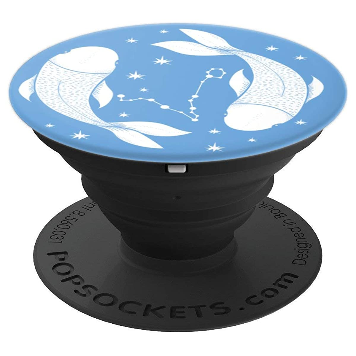 Pisces Star Sign Astrology Zodiac Astronomy Pop Socket - PopSockets Grip and Stand for Phones and Tablets