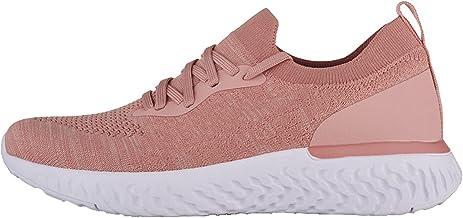 BingThL Natural Chic Baskets pour femme - Chaussures de randonnée décontractées en maille confortable - Chaussures de trav...