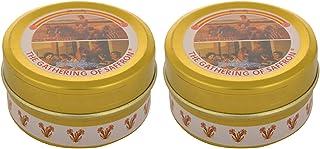 The Gathering of Saffron Spanish Saffron Kesar, 2 x 1 g: Grocery & Gourmet Foods