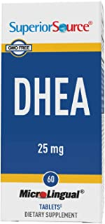Superior Source DHEA 25mg. (60 Tablets)
