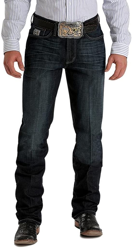 Cinch Silver Label Slim MB98034007 Dark Ranking TOP20 28x32 National uniform free shipping Jean