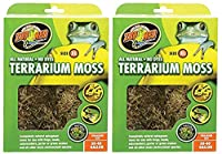 Zoo Med Terrarium Moss 30 to 40 Gallons by Zoo Med