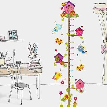 OGGID Vinilo Infantiles Medidor de Altura Tallimetro de Pared, Pegatinas Adhesivos para la Pared Decorativos Medidores Niños para Salon Dormitorio Habitacion: Amazon.es: Bricolaje y herramientas