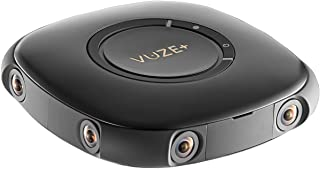 Vuze Plus Cámara de 360 Grados 3D Realidad Virtual Foto/Vídeo Bluetooth WiFi Negra