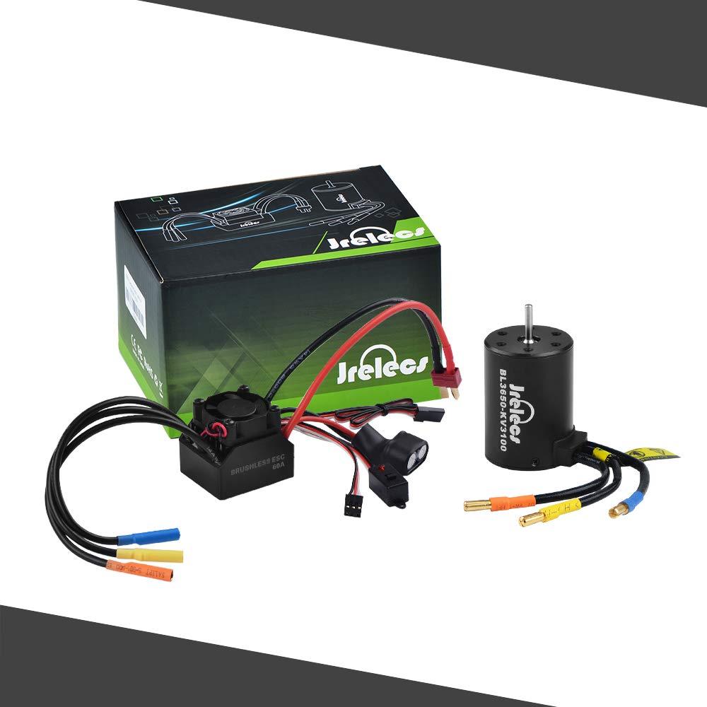 Jrelecs Kingbox Waterproof 3650 3100KV/4P Sensorless Brushle