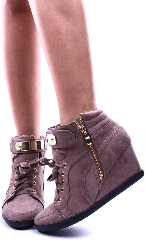 Statisk Footwear Forever Forever Forever Link kvinnor Peggy -53 Wedge mode skor  online försäljning
