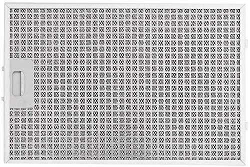 Silverline Hochwertiger Metallfettfilter Edelstahl für die FLOW-IN Kochfeldabzüge YT142.3413.05