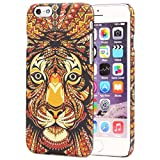 Urcover Funda iPhone 6 / 6s Carcasa Protectora Apple iPhone 6 / 6s Forest King Diseño Animales Smartphone Móvil Case Antichoque Variante 2