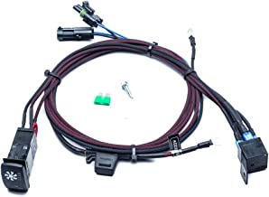 UTV INC Can Am Maverick Plug and Play Backlit LED Fan Over Ride Kit