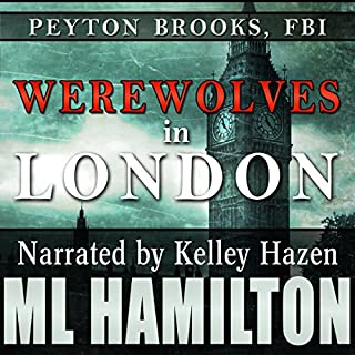 Werewolves in London audiobook cover art