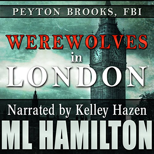 Werewolves in London audiobook cover art