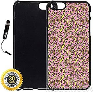 Custom iPhone 6 Plus/6S Plus Case (OFWGKTA Odd Future Donut of Wolf Gang) Edge-to-Edge Plastic Black Cover with Shock and Scratch Protection   Lightweight, Ultra-Slim   Includes Stylus Pen by INNOSUB