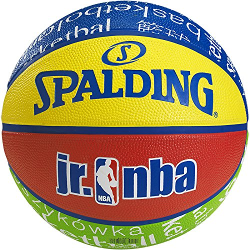 Spalding Basketball NBA Junior, 83-047Z, Orange, Größe 5