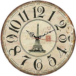 MGT0054 (30 x 30 cm) Analog wood-Wall Clock multi color
