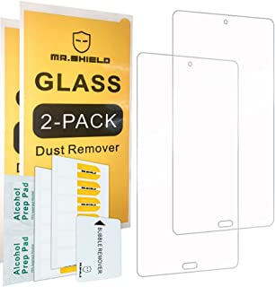 [2-PACK]-واقي شاشة Mr.Shield لهاتف Huawei MediaPad M3 مقاس 8.4 بوصة [زجاج مقسى] [0.3 مم فائق النحافة صلابة 9H 2.5D Round E...