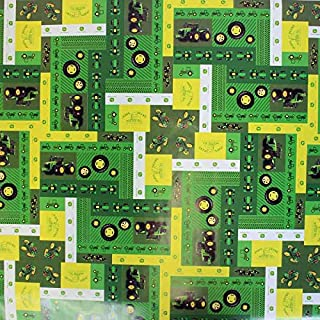 MasterPieces John Deere Yellow and Green Heritage Wrapping Paper
