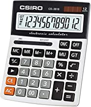 $36 » Office Electronic Calculator 16-bit Display Standard Function Calculator Large Display Solar Battery Dual Power Calculator...