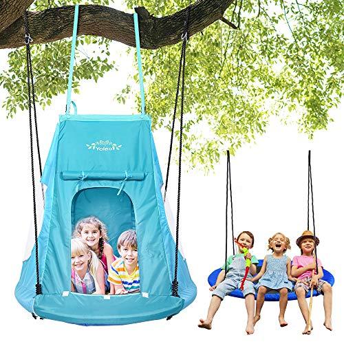 YOLEO YOLEO 100cm mit Zelt, Kinderschaukel Bild
