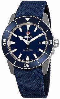 fe36181ba Reloj Rado automático HyperChrome Captain Cook en Titanio y Correa de Nylon  Azul, R32501206.