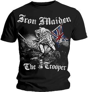 Rocks-off Herren Iron Maiden Sketched Trooper T-Shirt