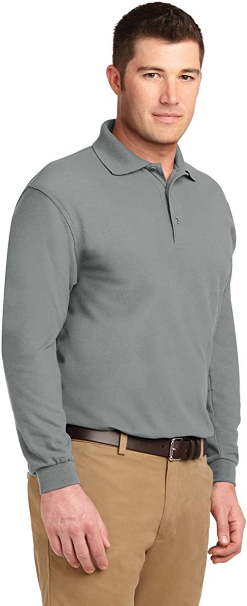 Port Authority Men's Big and Tall Pique Polo Shirt