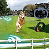 Dr.Tiger 2 Receiver Electric Dog Fence with Rechargeable Shock Collar,...