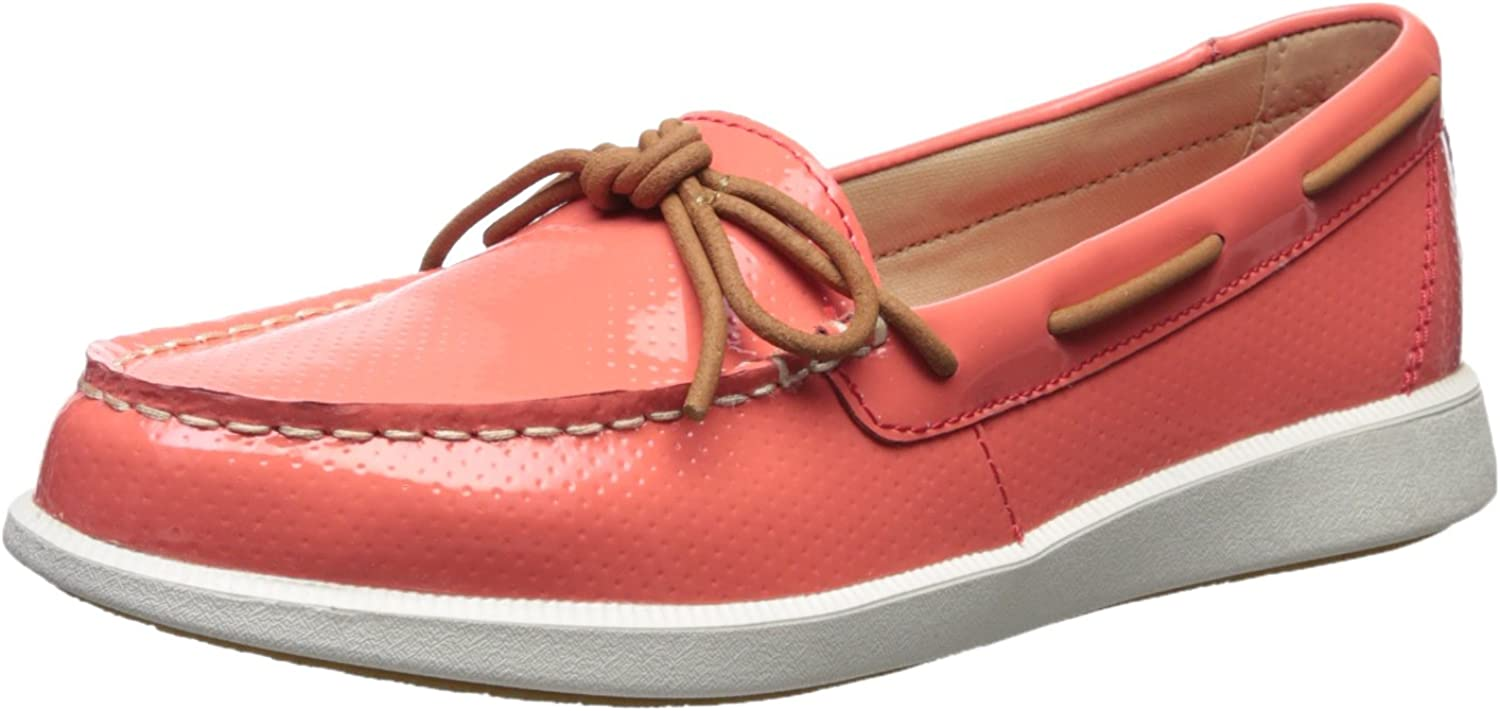 Sperry Womens Oasis Canal Patent Perf Boat shoes