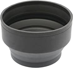 Gadget Career Professional 3-Stage Collapsible Universal Rubber Multi-Lens Hood for Tamron 14-150mm F 3 5-5 8 III