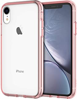 JETech Case for Apple iPhone XR 6.1-Inch, Shock-Absorption Bumper Cover, Rose Gold