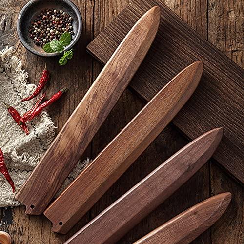 Stile Giapponese taglierina pesce fodero di sushi Speciale Proteggere il set di coltelli Protezione lama In Legno supporto lama di Legno fodero