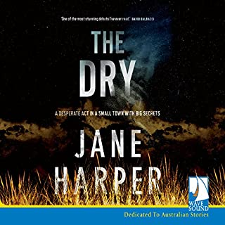 The Dry                   By:                                                                                                                                 Jane Harper                               Narrated by:                                                                                                                                 Steve Shanahan                      Length: 9 hrs and 37 mins     1,664 ratings     Overall 4.6