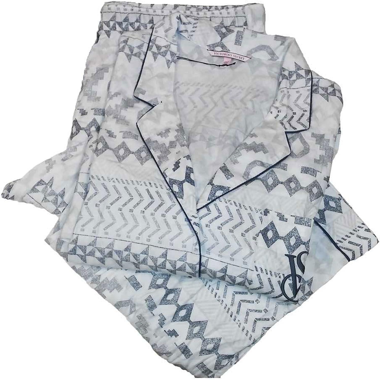 Victoria's Secret 2PC Cotton Pajama Set Flannel The Dream