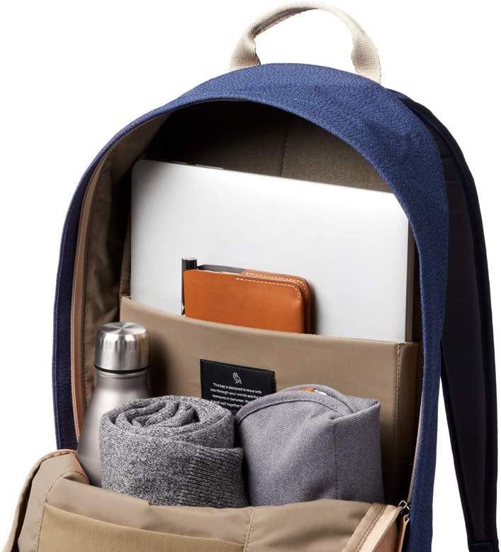 Backpack For Uni or School, Fits Laptops Up To 15 Inch, Internal Organization Pockets Bellroy Campus Backpack Desert Ochre