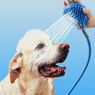 LOUTAN Pet Shower Sprayer-Pet Bathing Tool - Pet Shower Hose Portable Dog Sprayer- Shower Bath Tub & Outdoor Garden Hose Compatible