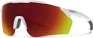 Ruckus 06HT/X6 99MM الكريستال الأبيض رمادي/Chromapop الأحمر مرآة النظارات الشمسية للرجال النساء + مجموعة نظارات مجانية