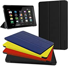 Fire HD 10 Case - Zerhunt Ultra Light Slim Fit Protective Cover with Auto Wake/Sleep for Fire HD 10 Tablet (7th Generation, 2017 Release) Black