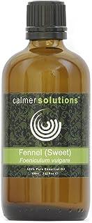 Aceite esencial de hinojo (dulce) 100%, para