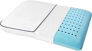 SEPOVEDA Oreiller en gel à mémoire de forme, ventilé pour dormir sur le côté, le dos et le ventre Housse de coussin lavabl...