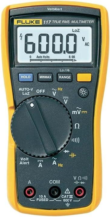 Multimetro per elettricisti con rivelatore di tensione senza contatto fluke 117 ? FLUKE-117