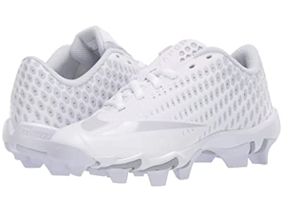 Nike Kids Vapor Ultrafly 2 Keystone Baseball (Little Kid/Big Kid) (White/Black/Pure Platinum) Boys Shoes